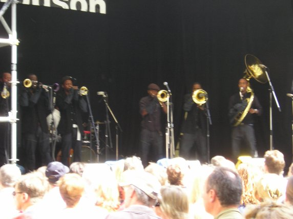 Frankfurt: Jazz im Museum 2007, Hymnotic Brass Ensemble