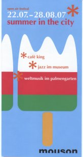 Summer In The City Programm 2007