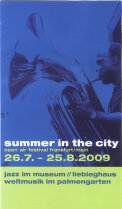 Summer In The City Programm 2009